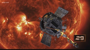 NASA releases first findings from Parker Solar Probe mission to sun