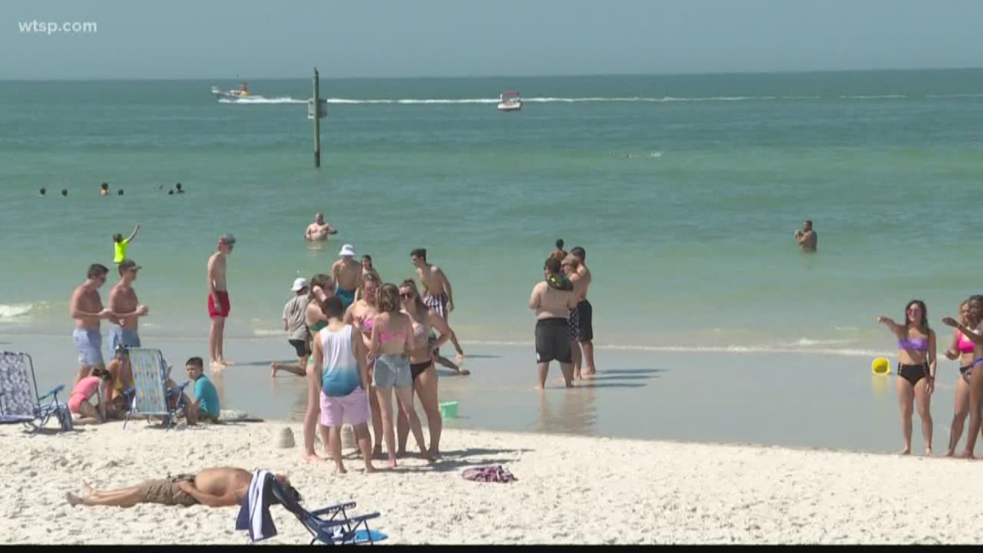 Tampa Bay Beaches Draw People In During