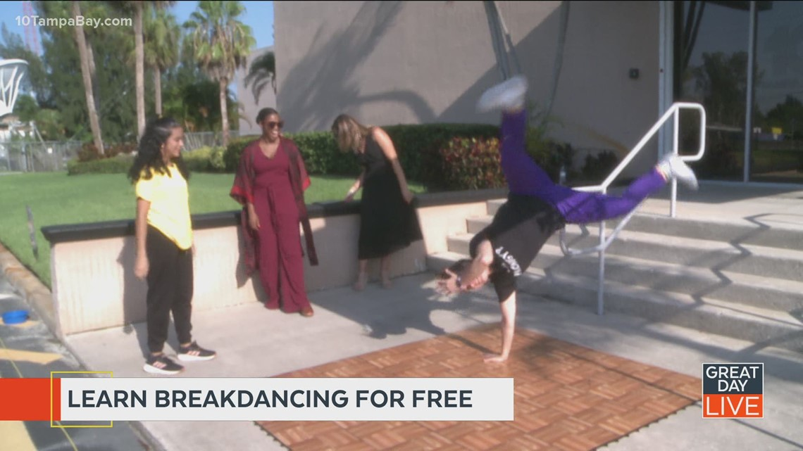 Learn to breakdance for free