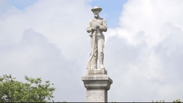 You thought Lakeland's Confederate statue was gone? Not so fast.