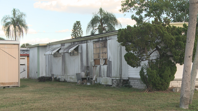 Residents forced out of their homes at Southern Comfort Mobile Home Park