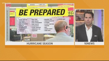 It's the last day to buy hurricane supplies tax-free in Florida