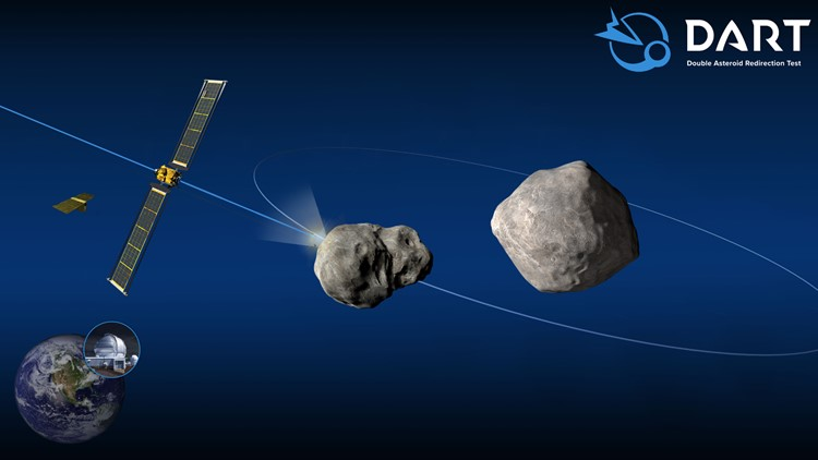 NASA is preparing to push a spacecraft into a near-Earth asteroid