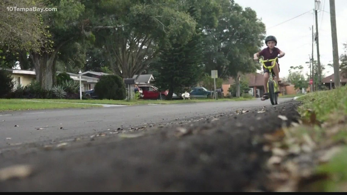 Tampa Mayor Castor advocates for safe sidewalks in neighborhoods