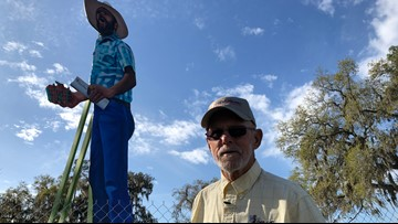'I-4 Giants' stand tall as towering tributes to strawberry workers