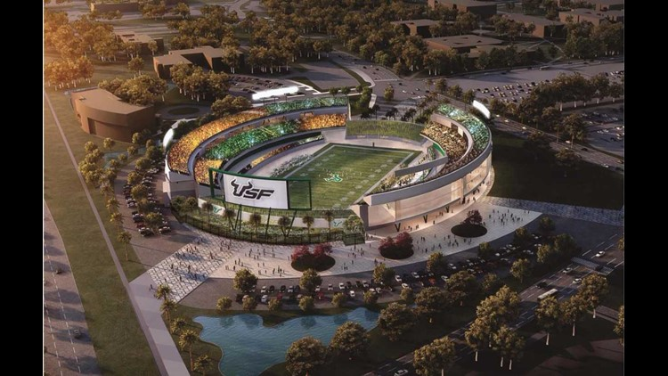 USF breaks ground on indoor practice facility