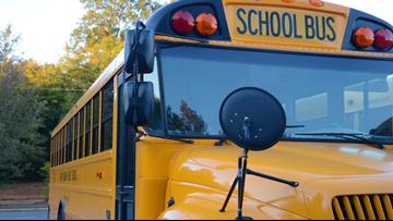 Bus driver hurt, 2 students evaluated after crash
