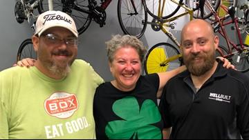 Bike shop helps homeless earn 'freedom' on two-wheels