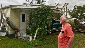 'It's a war zone': Neighbors on Timberlake Road start rebuilding after tornado