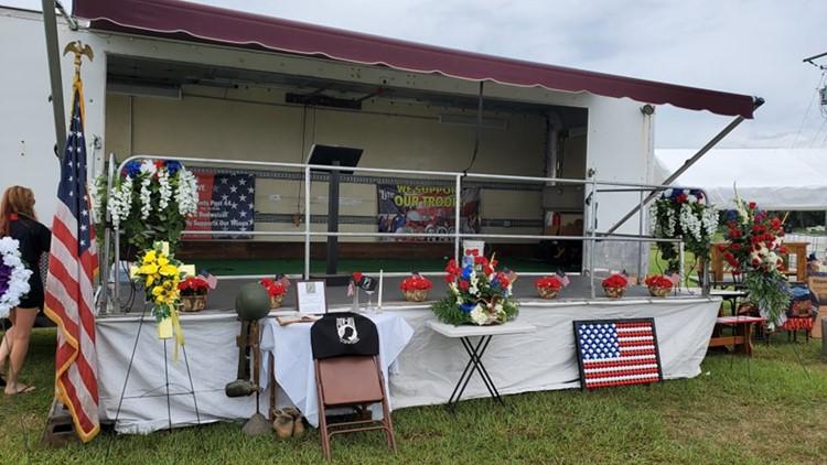 Trailer stolen from veterans group found, arrest made