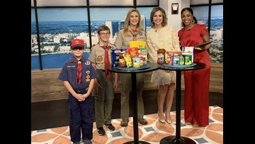 """Local scouts gear up for """"Souper Bowl"""""""