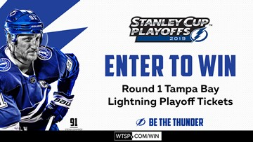 Win Tampa Bay Lightning playoff tickets!