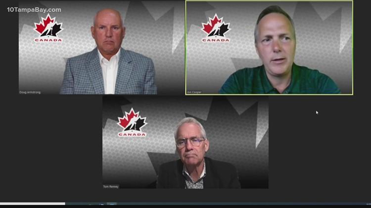 Lightning head coach Jon Cooper named head coach of Canada's men's Olympic team