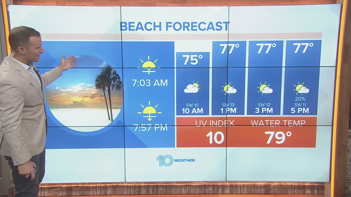 10 Weather: Saturday morning forecast; April 17, 2021