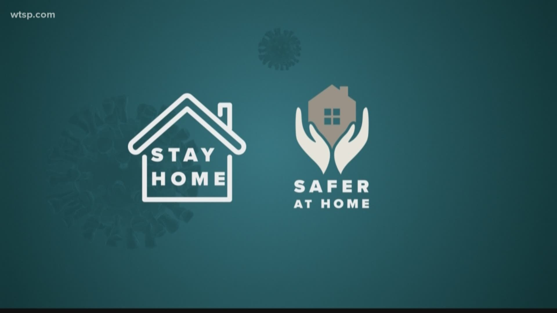 Safer-at-home vs. shelter-in-place: What does it mean? | wtsp.com