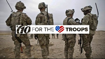 10 for the Troops: Help us send supplies to our troops overseas