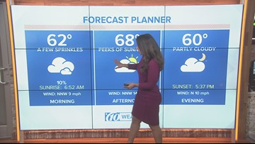 Chilly weekend across Tampa Bay