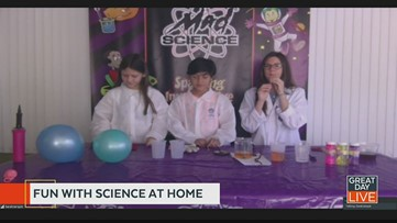 Have fun with science at home