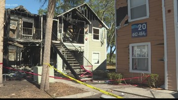 50 people displaced by apartment fire in Bradenton