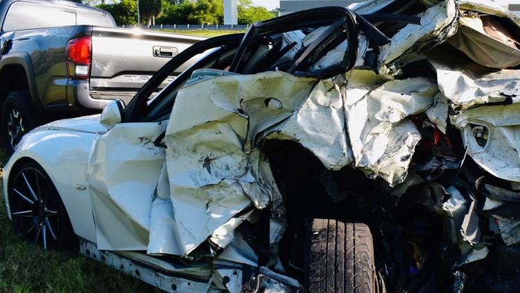 Man accused of deadly Selmon Expressway crash turns self in, troopers say
