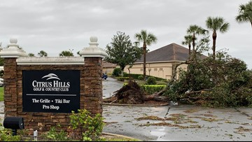 'Severe weather event', possible tornadoes reported in Citrus County