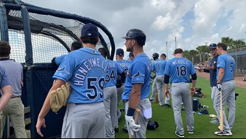 Rays begin spring training today against Phillies