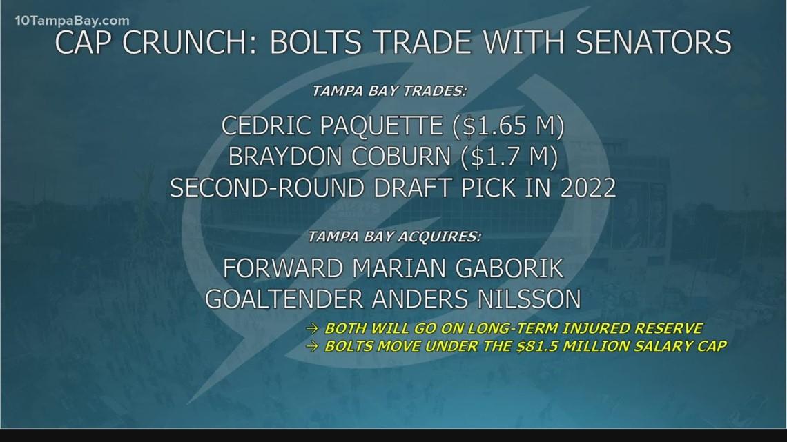 Tampa Bay Lightning make 2-man trade with Ottawa Senators