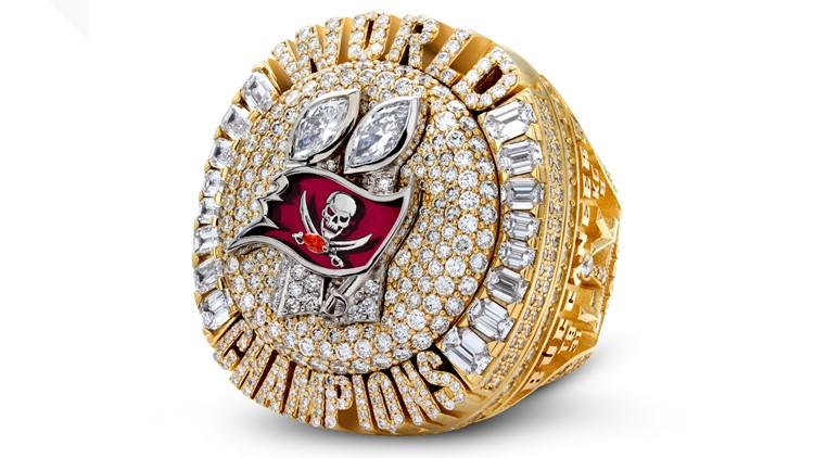 Bling Season: The Bucs show off their Super Bowl rings