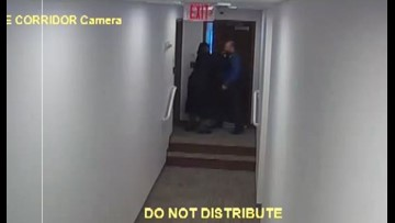 Judge could be suspended after video shows her grabbing court employee by the neck