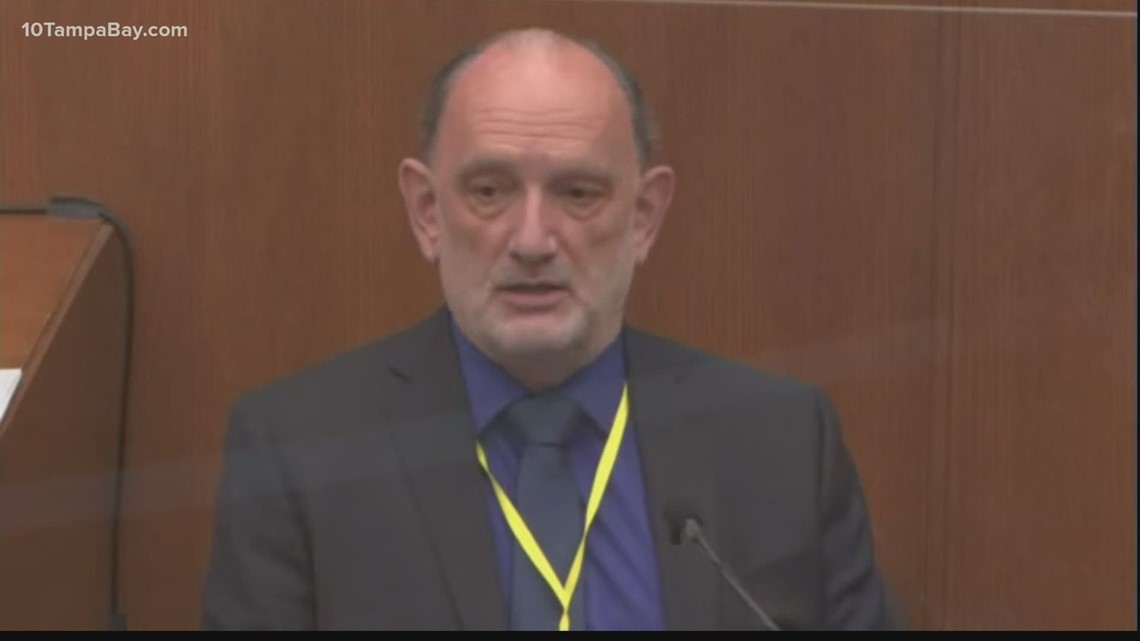Defense expert says carbon monoxide possibly contributed to George Floyd's death