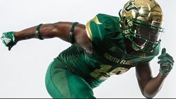USF football unveils new lightweight Adidas uniforms