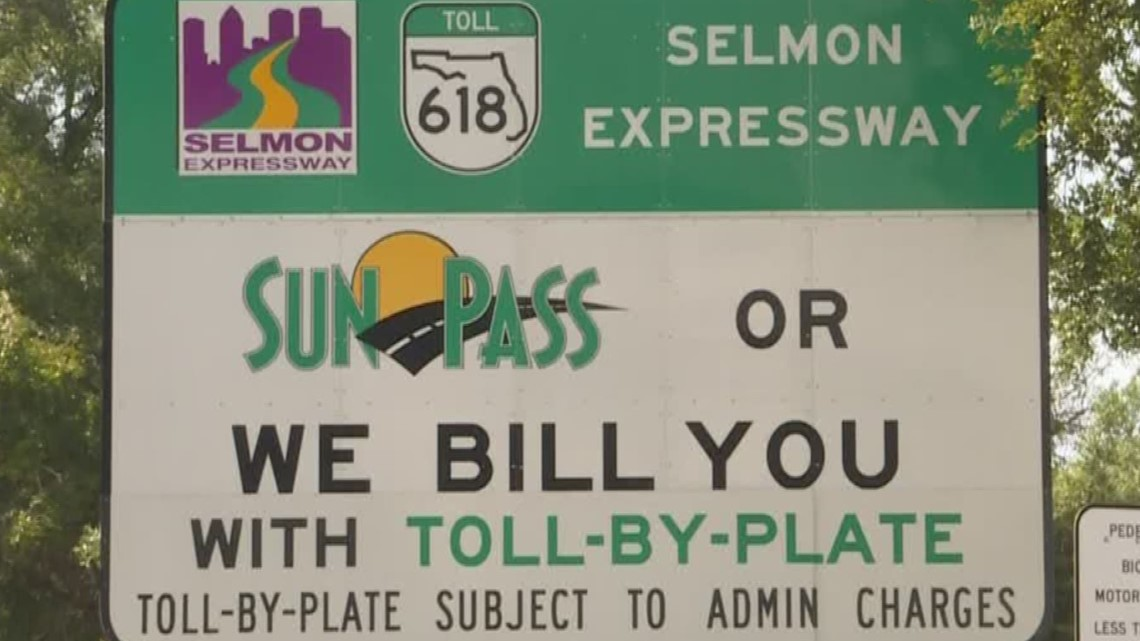 Under new Sunpass billing system, some drivers could get collection letters   10News WTSP