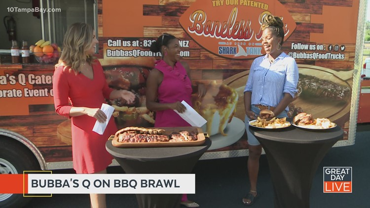 """Tampa Bay barbecue truck competes in """"BBQ Brawl"""""""