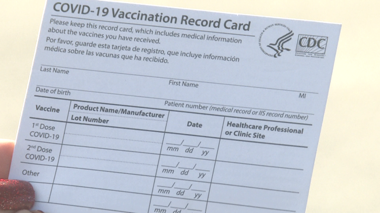 Did you lose your vaccine card? Here's what to do next