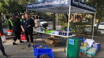 Cleaning up Gasparilla: Around 400 volunteers collect tens of thousands of discarded beads