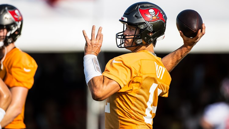 Bucs, Brady back to the grind in hopes for Super Bowl repeat as Training Camp begins