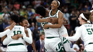 Baylor holds off Notre Dame 82-81 to capture Women's Final Four title