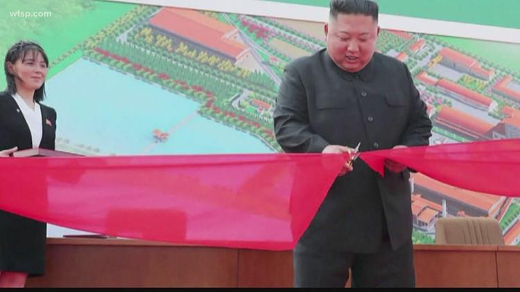 North Korean media: Kim Jong Un makes public appearance amid poor health rumors