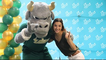 She got a place off-campus. USF charged her $3,750 for a dorm she never had. So, she turned to 10.