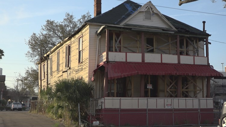 Restoration now underway at Tampa's historic Jackson Boarding House
