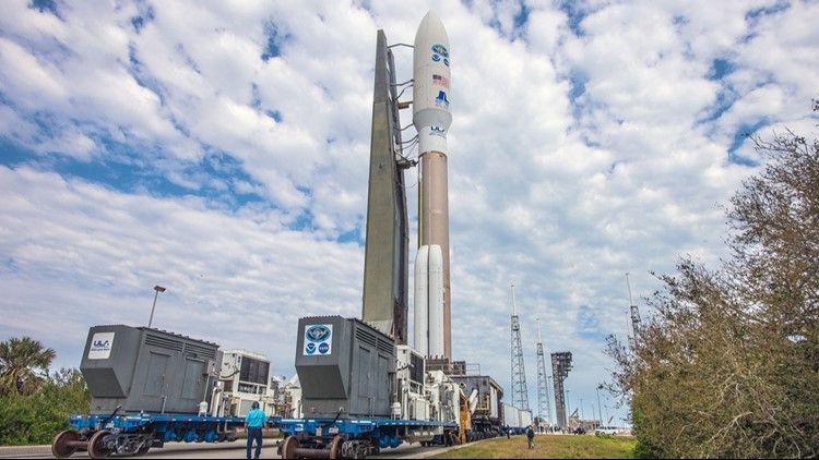 Atlas V rocket set to launch from Cape Canaveral