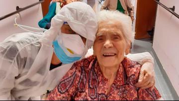 103-year-old Italian says 'courage, faith' helped beat coronavirus