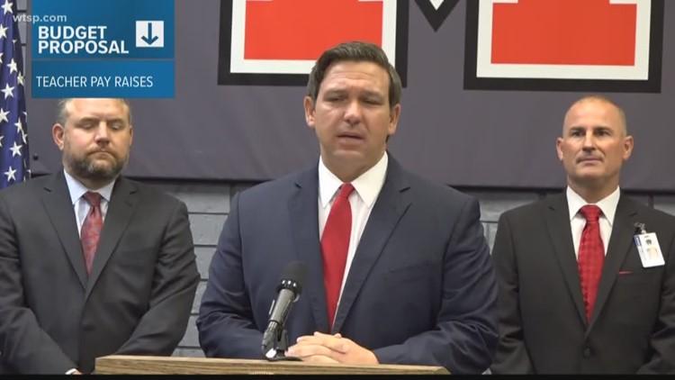 Governor Ron DeSantis releases his budget recommendation
