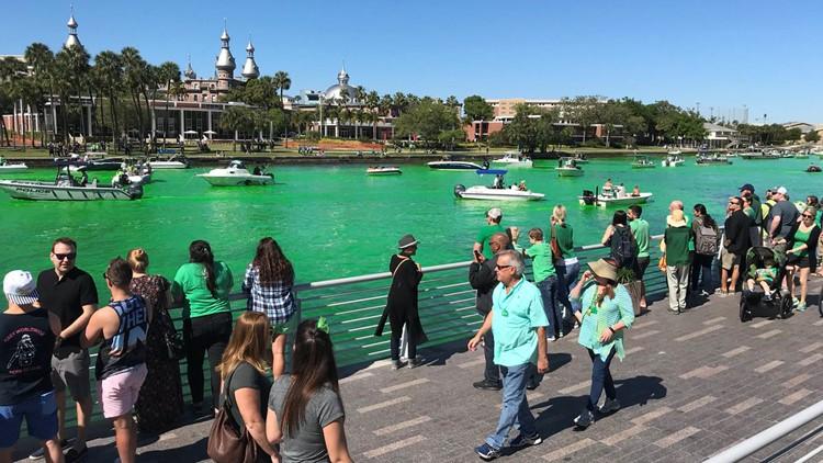 Hillsborough River won't 'go green' for St. Patrick's Day