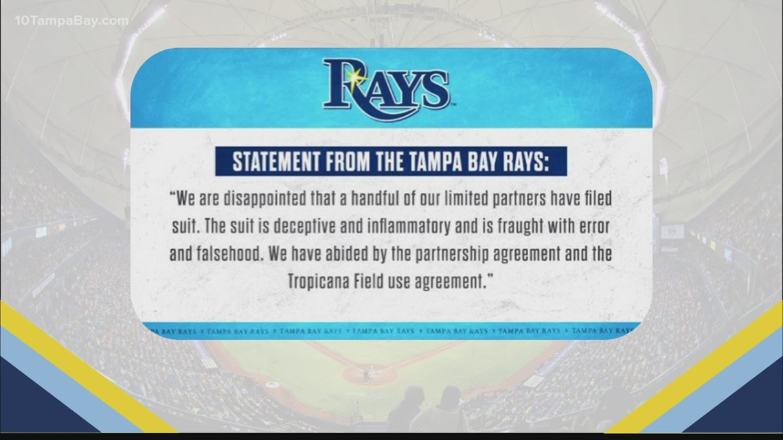 Rays respond to minority owners suing Stuart Sternberg