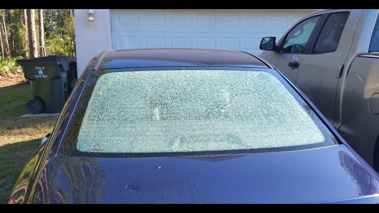 Several cars were damaged over the past week off Tropicaire Boulevard and Ponce De Leon Boulevard. Police say a BB gun was used to shoot at parked cars and windshields.