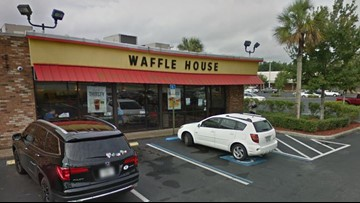 Chef hurt when someone shoots through Waffle House window