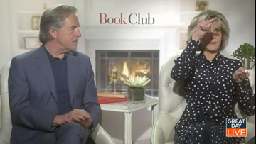 "Candice Bergen talks ""Book Club"""