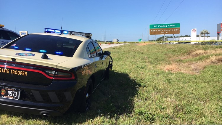Troopers Looking For Vehicle That Killed Pedestrian On I-4