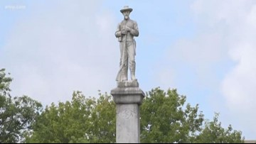 Lakeland commission votes to use money to move Confederate soldier statue
